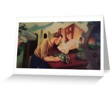 Mural Montage Greeting Card