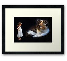 The Confrontation Framed Print