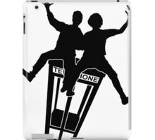Bill And Ted (Black) iPad Case/Skin
