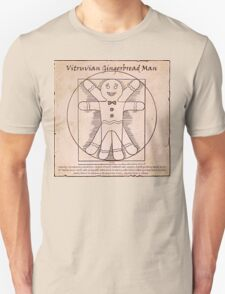 Vitruvian Gingerbread Man T-Shirt