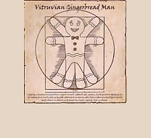Vitruvian Gingerbread Man Unisex T-Shirt