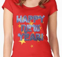 Happy New Year Tee and Gifts  Women's Fitted Scoop T-Shirt