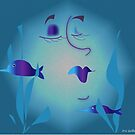 Fish Tanks are soo relaxing Darling....... by IrisGelbart