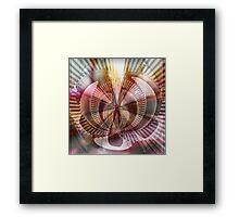 Cluster Framed Print