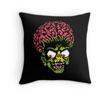 Alien - pixel art Throw Pillow
