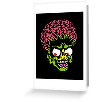 Alien - pixel art Greeting Card