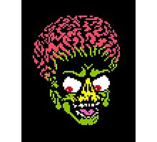 Alien - pixel art Photographic Print