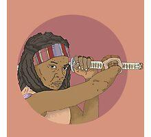 Michonne Photographic Print