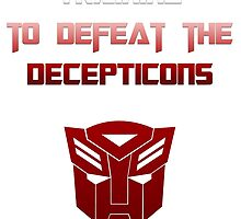 Training to Defeat the Decepticons by tralma