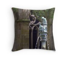 Hugo Wstinc ~ Pandhof - St. Martin's Cathedral Throw Pillow