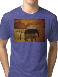 Elephant Family Tri-blend T-Shirt