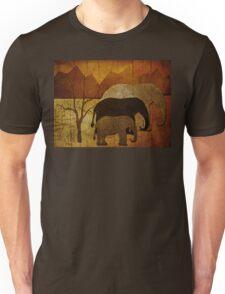 Elephant Family Unisex T-Shirt