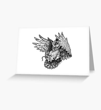 Attack Greeting Card