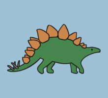 Cute Stegosaurus by jezkemp