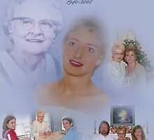 Mom's Memorial Collage by JordansJewels