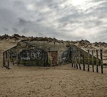 Bunker on a French Beach by 7horses