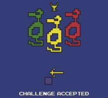 Atari Adventure Challenge Accepted TeeShirt by kalitarios