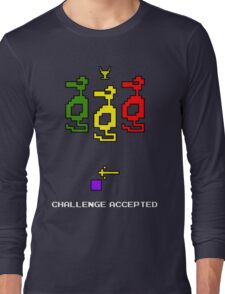 Atari Adventure Challenge Accepted TeeShirt Long Sleeve T-Shirt