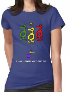 Atari Adventure Challenge Accepted TeeShirt Womens Fitted T-Shirt