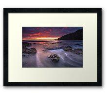 Otarawaiwere Dawn Blush Framed Print