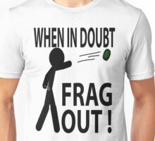 Frag out Unisex T-Shirt