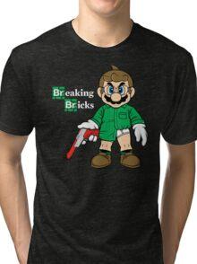 Breaking Bricks Tri-blend T-Shirt