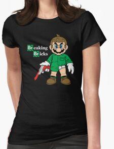 Breaking Bricks Womens Fitted T-Shirt