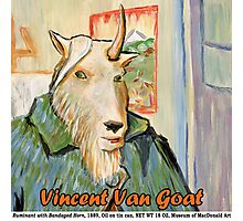 Vincent Van Goat Photographic Print
