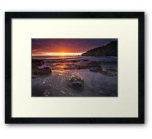 Otarawaiwere Sunrise Framed Print