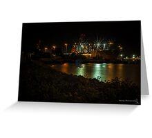 Naval Shipyard Greeting Card