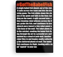 Babelfish Metal Print