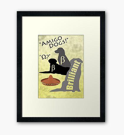 Amigo Dogs Framed Print