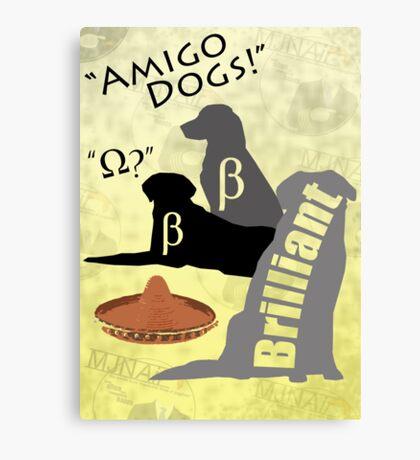 Amigo Dogs Canvas Print
