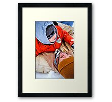 Just Another Winter's Day.... Framed Print