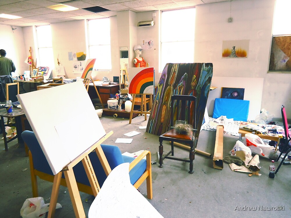 Community Artists Work Space. by nawroski .