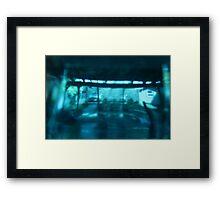 La Vie en Bleu Framed Print