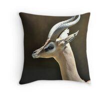 Southern Gerenuk Throw Pillow