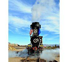 Steam Engine Train Photographic Print