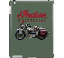Indian Motorcycle - Vintage Army iPad Case/Skin