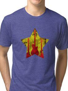 Rockstar guitar Tri-blend T-Shirt