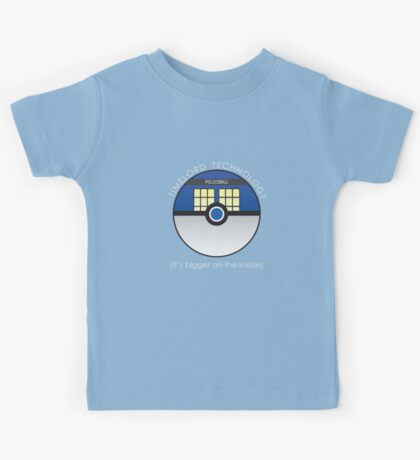 It Has To Be Timelord Technology Kids Tee