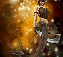 Woodgoddess Mermaid by InfinityRain
