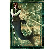 Turn of the Century Merman Photographic Print