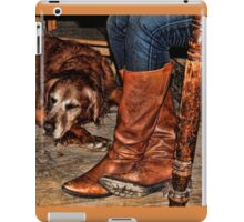 Boots and Buddy iPad Case/Skin