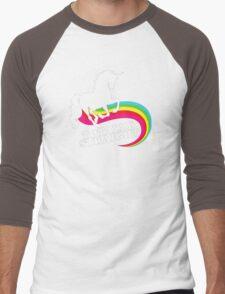 Totally Straight Men's Baseball ¾ T-Shirt