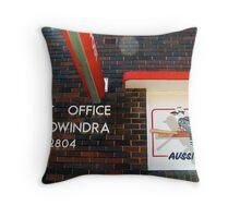 Aussi Post Throw Pillow