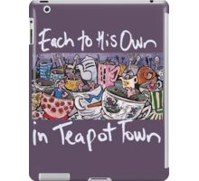 Teapot Town iPad Case/Skin