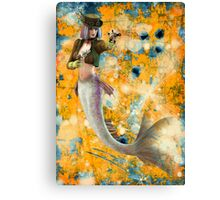 Steampunk Mermaid Canvas Print