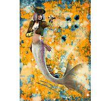 Steampunk Mermaid Photographic Print