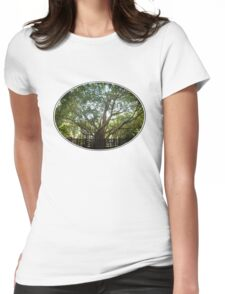 Where Life Begins Womens Fitted T-Shirt